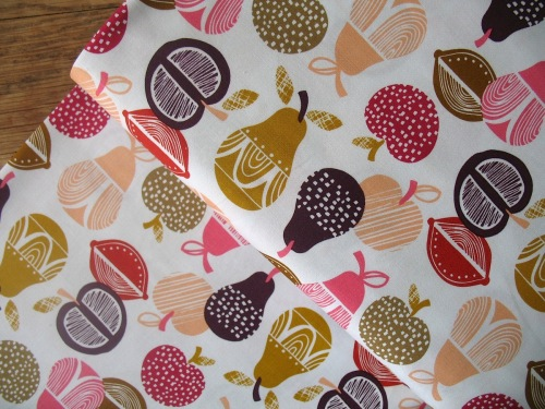 Wendy Kendall Retro orchard apples & pears … stairs