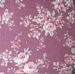 Sevenberry natural  flower blooms vintage pink  linen mix