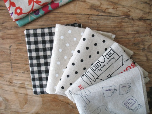 Mini Cloth FRENCH themed linen combination