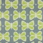Ellen Luckett Baker Garden butterflies on grey