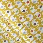 Japanese Import  coloured ear elephant on yellow