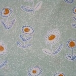 Atelier Akiko Cotton lawn sketch floral  for Lecien