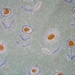 Atelier Akiko Cotton lawn sketch floral  for Lecien