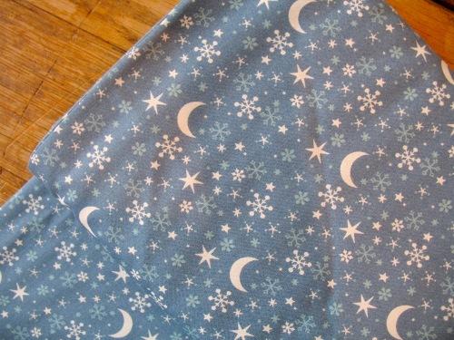 Westfalenstoffe Kitzbühel  Moon and stars on diesel (wide)
