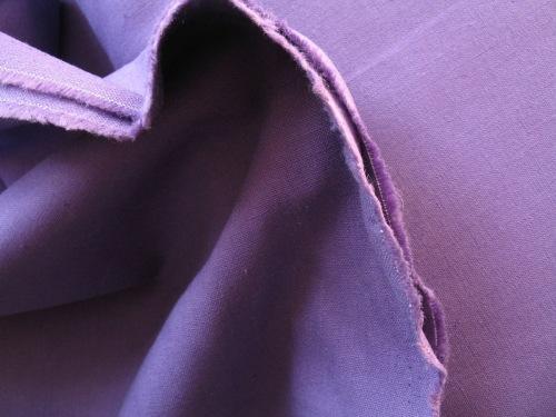 Broader width LINEN in purple