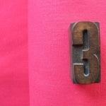 Broader width LINEN in Hot pink
