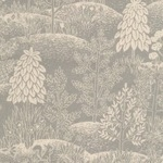 Sevenberry Japan Wicklow mountains with heather & ferns on grey