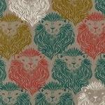 Sarah Watts - AUGUST monarch on linen mix