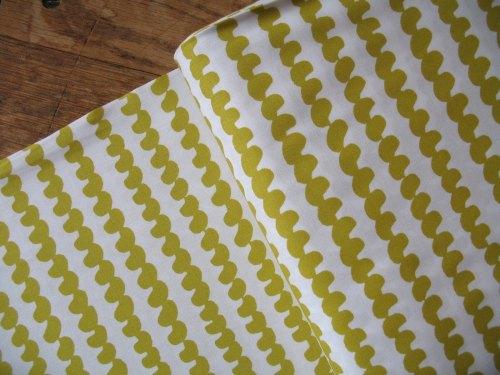 Lotta Jansdotter Follie hoop in buttercup yellow