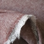 Robert Kaufman Essex YARN DYED LINEN in RUST
