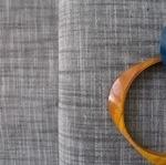 Robert Kaufman Manchester Yarn dyed cotton - charcoal