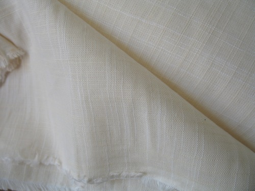 Robert Kaufman Manchester Yarn dyed cotton - ivory