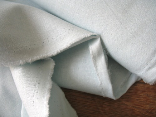 Robert Kaufman Essex LINEN in lLight blue