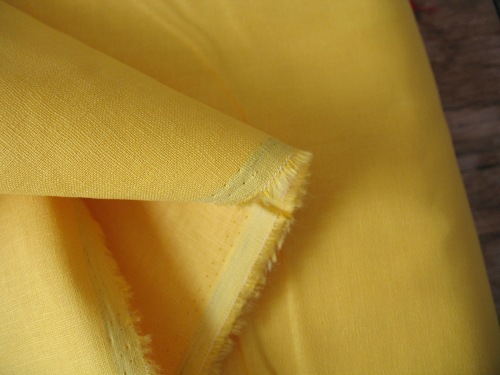 Robert Kaufman Essex LINEN in Yellow