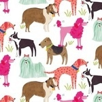 Blend by Maude Ashbury Best in show dogs on white