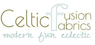 celticfusionfabrics, site logo.