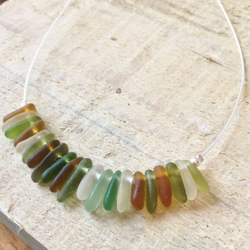 Smooth Shard Necklace