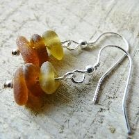 Amber Stack Earrings