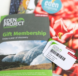 Gift a gift membership to the Eden Project