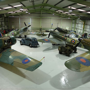 Give them a VIP Spitfire Tour at Biggin Hill in Kent