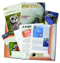 Give a gift membership to the British Trust for Ornithology