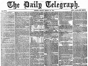 Find out more about The British Newspaper Archive