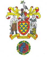 The coat of arms for the Federation of Family History Societies