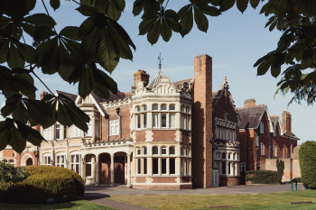 Visit Bletchley Park,  Britain's once top-secret WWII Codebreaking HQ