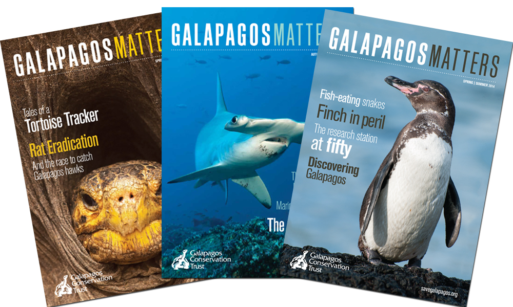 Gft a Gift Membership to the Galapagos Conservation Trust