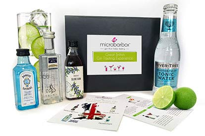 Give a 3 month gin subscription to sample and enjoy at home