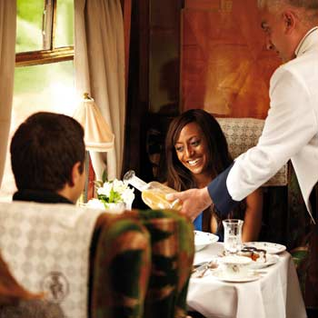 Would Mum enjoy some Steam Train Dining?