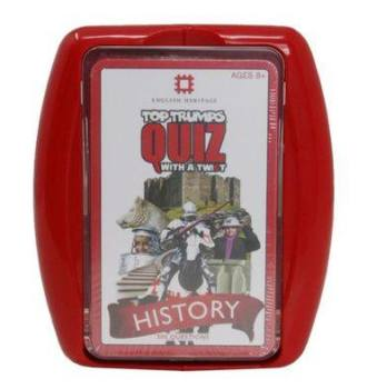 How about a Top Trumps History Quiz?