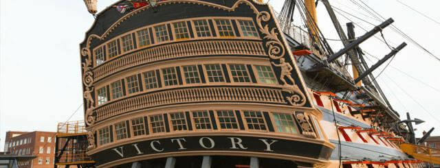 Go back in time at the Portsmouth Historic Dockyard