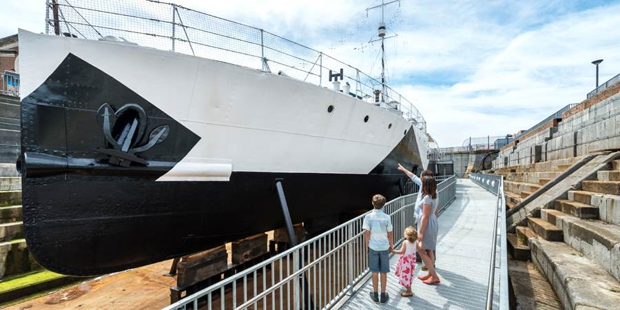 Find out more about this special offer on Portsmouth Historic Dockyard
