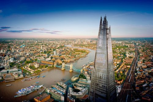 Enjoy the view from The View from the Shard