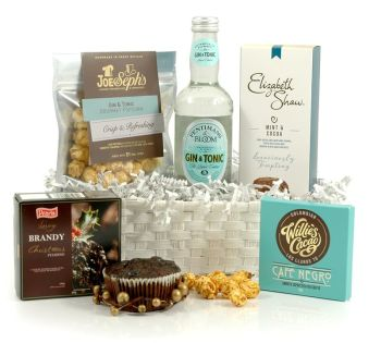 Gin hampers from Hampergifts.co.uk