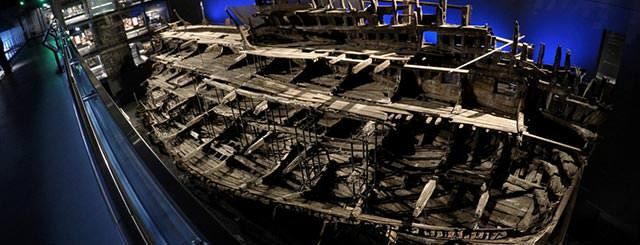 Visit the Mary Rose Museum