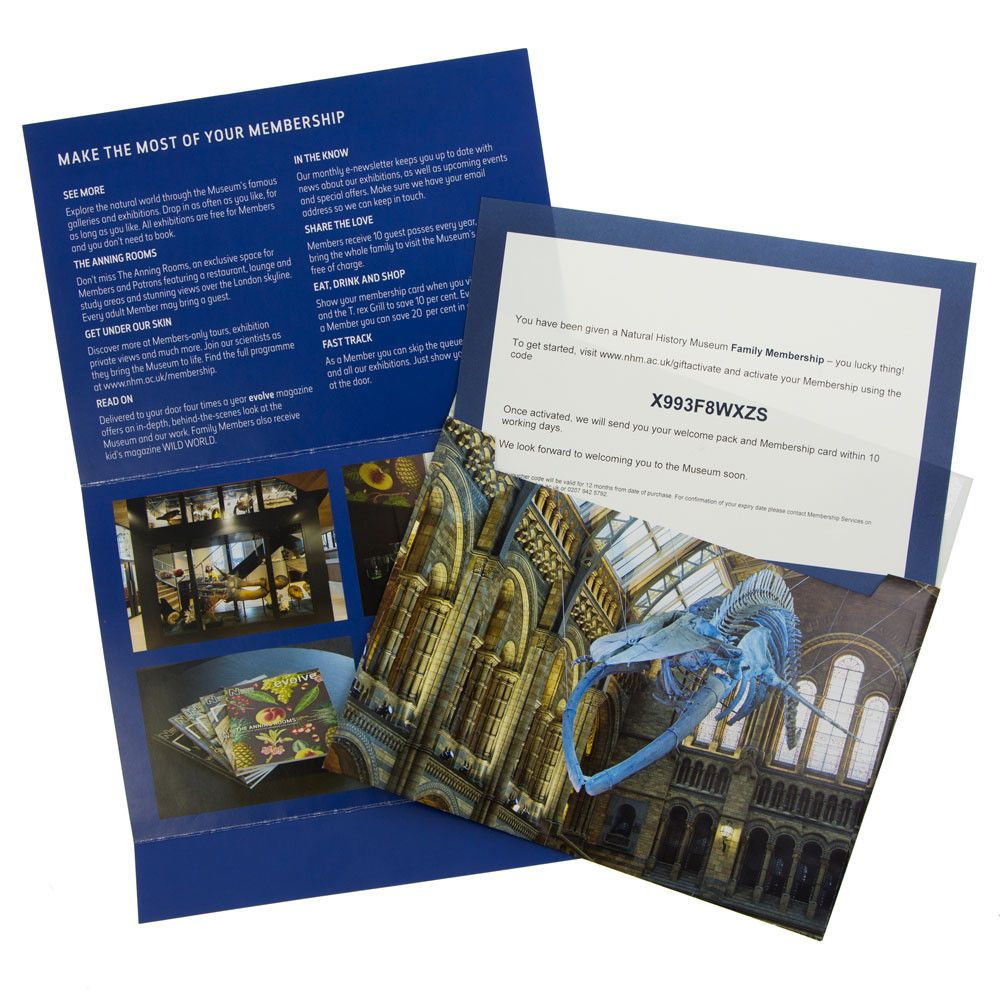 Give a Gift Membership to the Natural History Museum