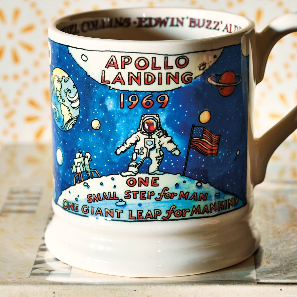 Commemorate the moon landing with this fun mug!
