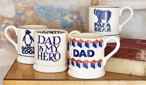 25% off selected Father's Day mugs at Emma Bridgewater