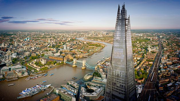 Enjoy the View from the Shard of London's beautiful skyline