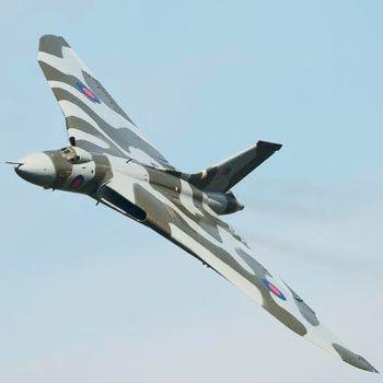 Vulcan Bomber Flight Simulator Experience