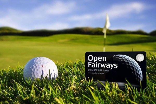 Open Fairways 12 Month Membership Privilege Card - Special offer