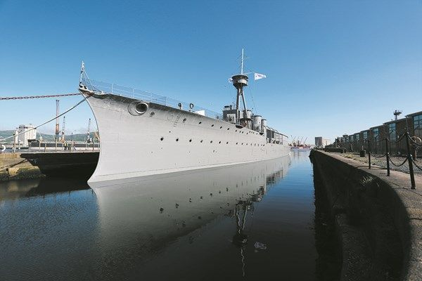 HMS Caroline Experience for Two Adults