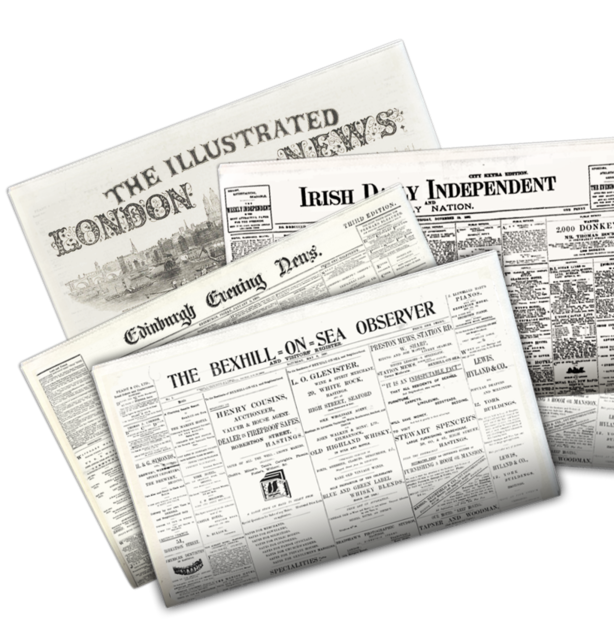 Go to the British Newspaper Archive here