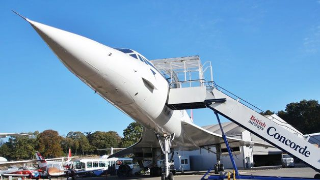 Brooklands Museum Entry with Concorde Experience for Two