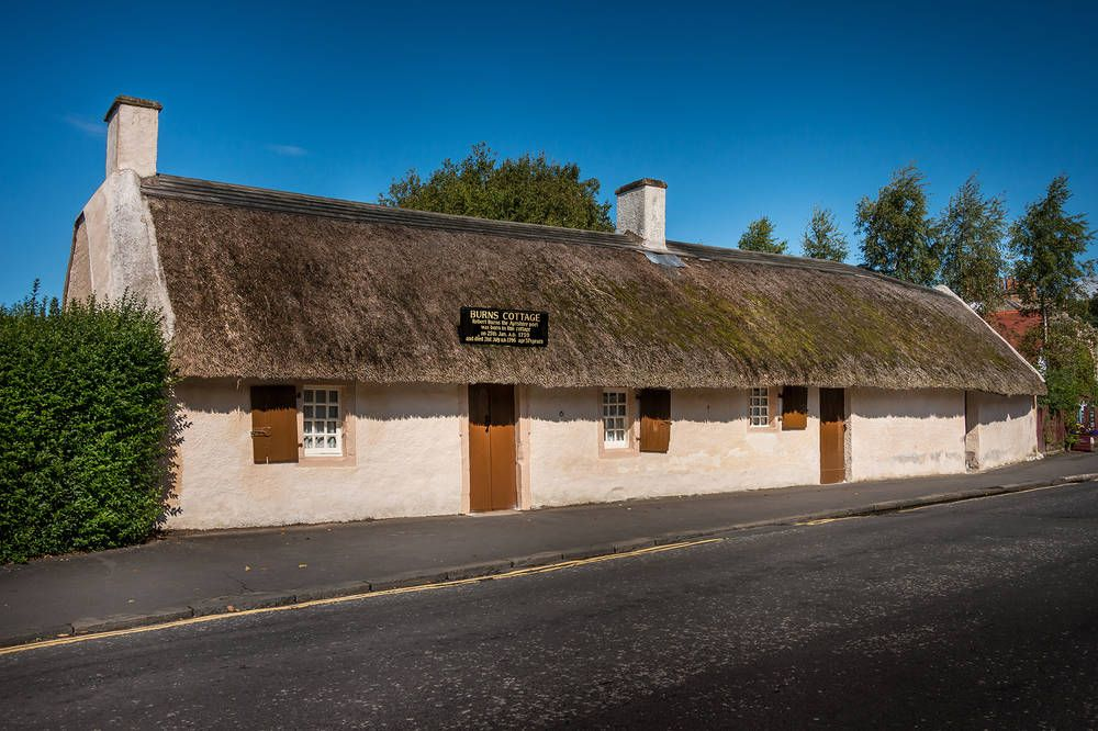 There is a fundraising appeal to save Robert Burns' Cottage