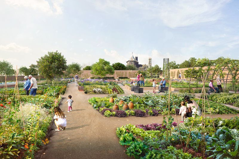 RHS Bridgewater near Salford opens from 30 Juy 2020