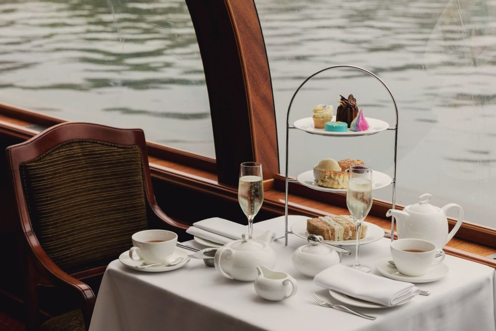 Enjoy Afternoon Tea as you take in the sights