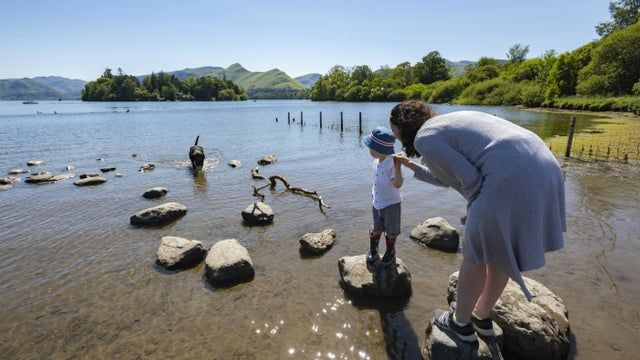 Re-charge your batteries with the National Trust